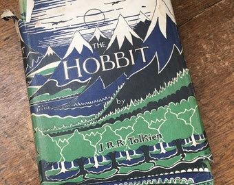 The Hobbit J R R Tolkien 12th Impression 1961 HB DJ Lord of the Rings Related