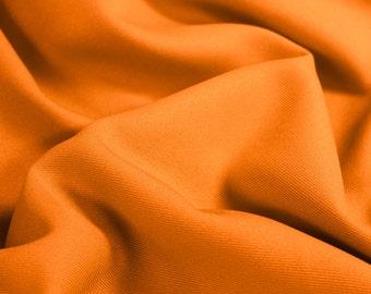 Orange Soild  60'' Poly Gabardine Fabric by the Yard - Style 3054