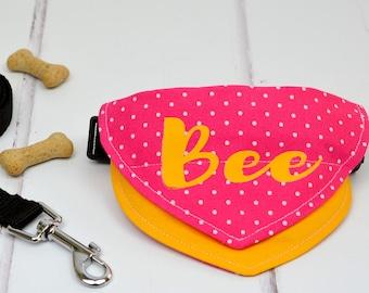 Personalised Pet Bandana - dog bandana collar personalized - dog neckerchief - pet gift - pet accessories - personalised pet collar