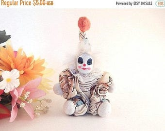 Clown Doll Miniature 6 Inch Toy Circus Clown Collectible Home Decor Craft Supply Gift