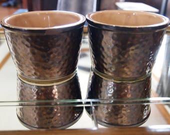 Copper Crock, Small Crock, Decorate, Antique Crock, Decorate, Vintage, Succulent Planter