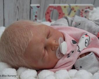 PBN Yvonne Etheridge Reborn Doll Baby Girl Sculpt Zachary By Cassie Brace Ltd Edition 110/500