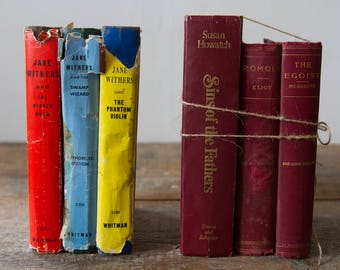 Vintage Book Bundle - SOLD SEPARATELY