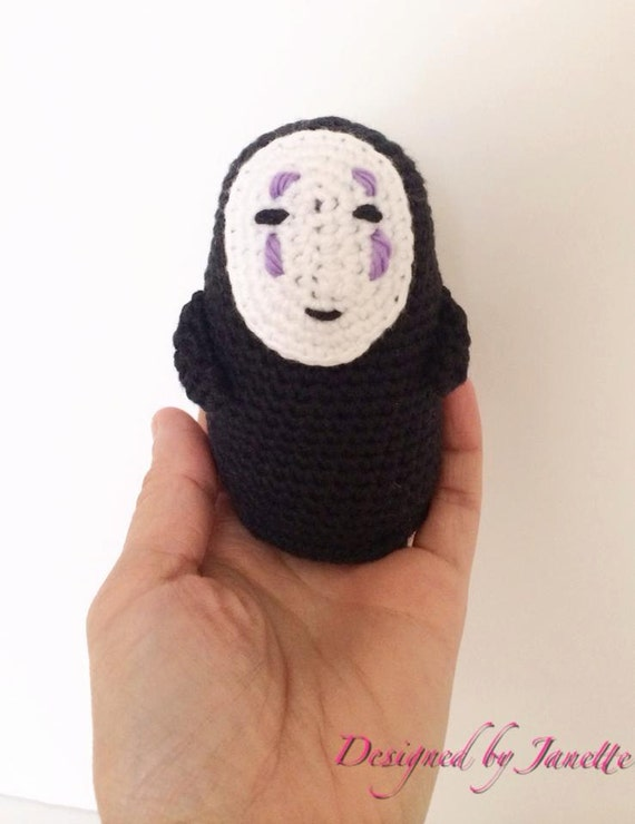 No Face, from Spirited Away animation movie (Pattern Only) - Download Instantly