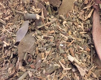Rue & Hyssop Herbal Blend - Wicca Voodoo Hoodoo Santeria Pagan Smudge