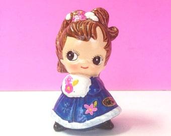 Vintage Joseph Original January Girl Figurine