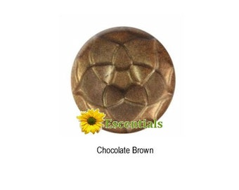 1/2 Ounce Chocolate Brown Mica