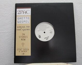 "2Pac - ""Ghetto Gospel"" vinyl record, 12"" Single, 33 RPM"