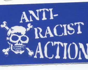 Anti-Racist Action Sticker