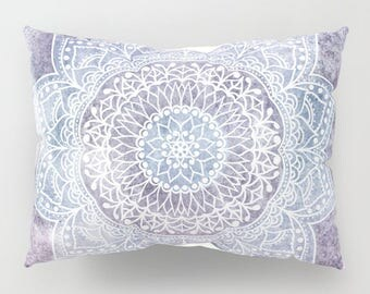 DEEP PURPLE MANDALA - Bohemian Pillow Shams Set