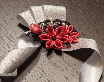 Guava Prom Wristlets - Wedding Corsage - wedding wristlets