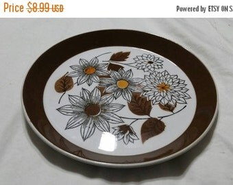 On Sale Collectible China Mikasa Duplex by Ben Seibel Frolic Pattern Salad/Dessert 7.5 inch Serving Plate Made in Japan