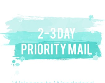 International USPS 3-5 day PRIORITY MAIL Shipping Upgrade