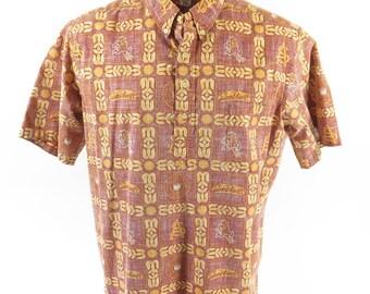 Vintage 90s Reyn Spooner Sun Devils Hawaiian Shirt Mens XXL Arizona Football [H72R_0-12]