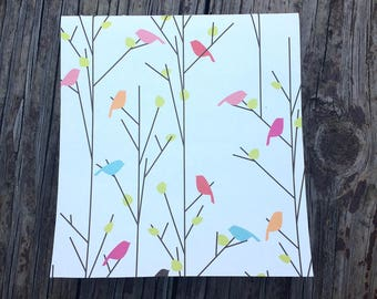 Branches and Birds Sketchbook/Journal