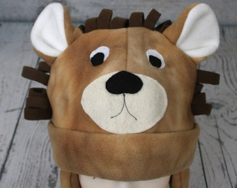Lion Fleece Hat (Baby, Child, and Youth Sizes)