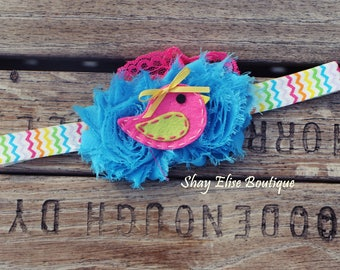Baby Bird Springtime Summertime Headband
