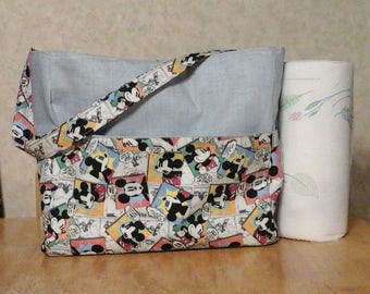 Mickey Mouse 10 pocket diaper bag