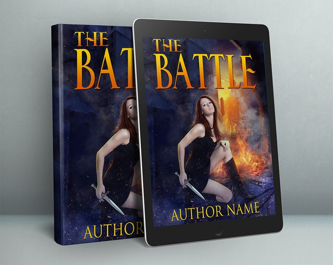 dystopian woman Urban fantasy cover design premade book cover art