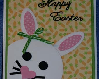 Peek-a-Boo Easter Bunny Card