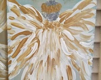 Golden Angel Painting