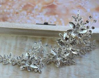 Bridal hair vine, Bridal headpiece, Wedding hair piece, Wedding Headpiece , Bridal hair piece , Bridal hair Accessories , Flower Headpiece