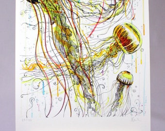Jellyfish Original Art