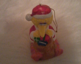 Vintage Big Bird Christmas ornament