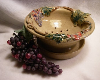 Grape Themed Berry Bowl - #696