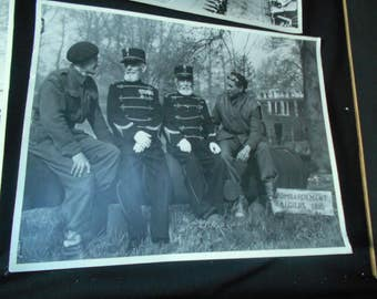 Original Oversize WWII Photographs Salvaged from a Legion Hall