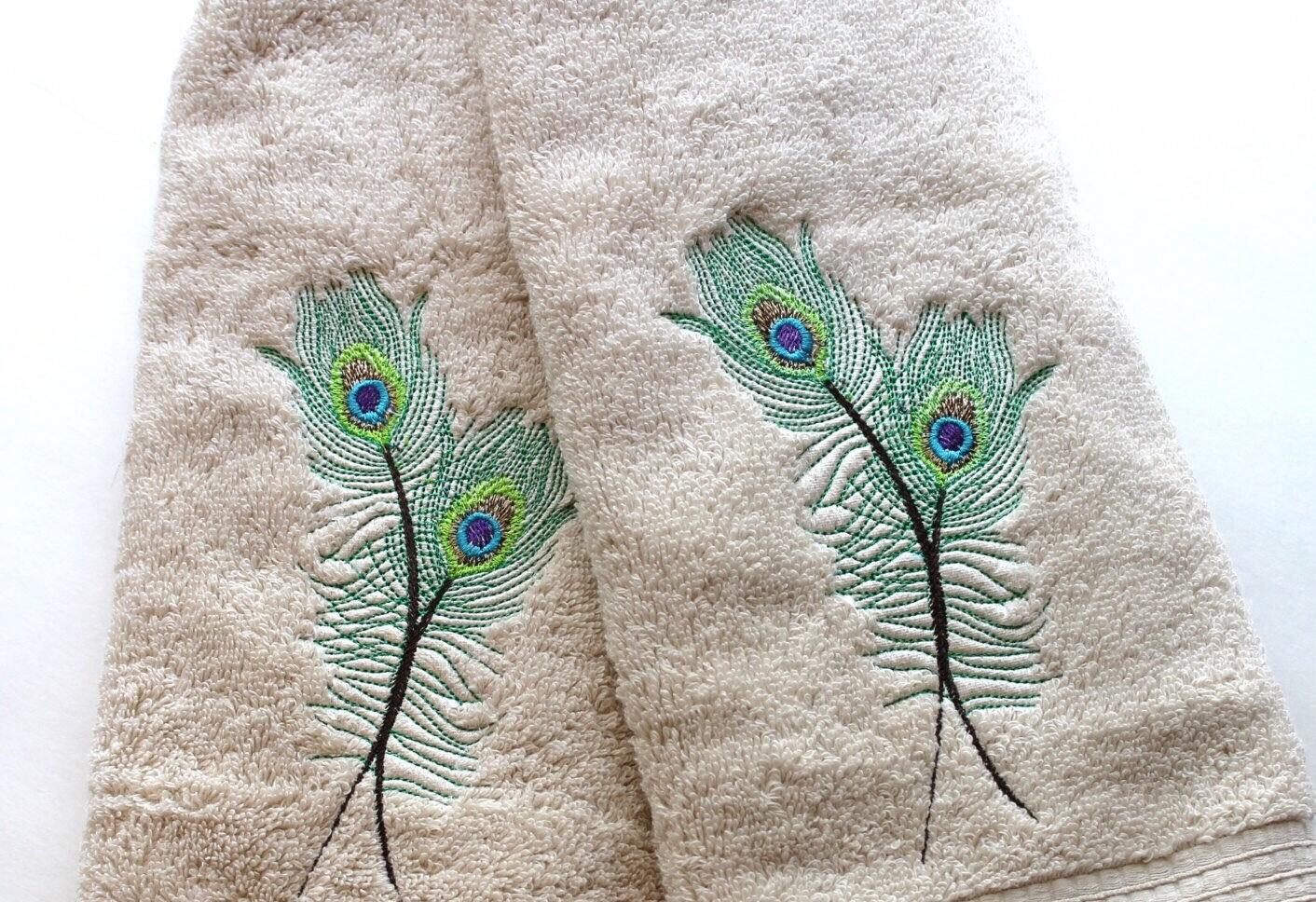 Peacock bathroom towels - Peacock Bath Towels Bath Towels Peacock Peacock Feather Towel Sets Hand