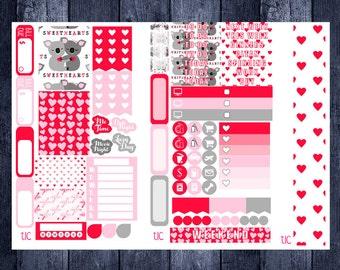 Lovely Valentine Kit for Personal Planner