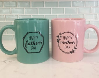 Mother & Father's Day Mug Set
