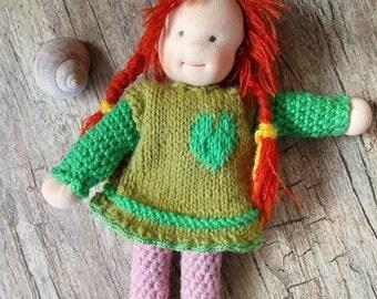 Summer sale! Waldorf inspired elf -girl
