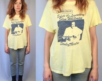 Vintage Slim Whitman T-Shirt 1980