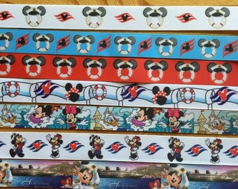 Disney Cruise lanyard ID holder for vacation, adult or youth sizes Aquaduck