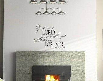 Bible Verse Wall Decal Etsy - Bible verse wall decals