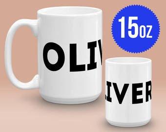 OLIVER!!! Richard Hammond - Top Gear The Grand Tour - 15 oz Ceramic Mug Gift Cheers TV Quote Funny Humor Breakfast Tea