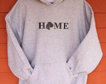 MDI HOME SweatShirt  - Sport Gray Adult Sizes S-XL