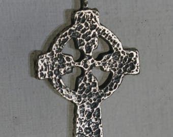 C 12 Celtic Cross Pendant