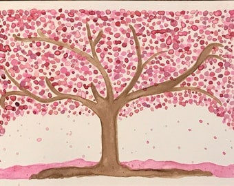 Spring has Sprung, Watercolor, Pink, Home Decor, Seasons, Warm