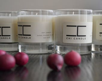 Soy Candle - 4 Tumbler HB Rocks - You choice of Four- Scented Soy Candle. Handmade