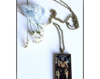 The Devil Tarot - Necklace Pendant