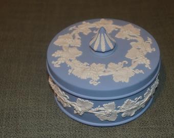 Blue Jasperware Etsy