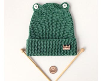 FREE SHIPPING!!! Frog Baby Beanie (size 12-24 months)