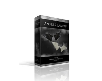 Angels and Demons Wing Collection with Bonus Feather Brush