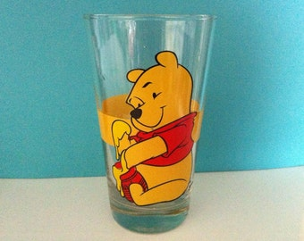 Walt Disney Winnie The Pooh Collectible Glass Tumbler