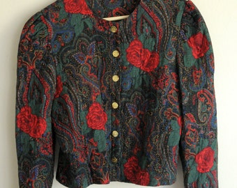 SALE paisley jacket