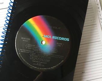 American Graffiti - Vinyl record address book