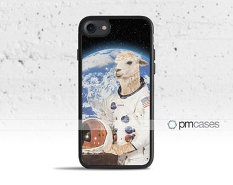 Astronaut Llama Case Cover for Apple iPod Touch & iPhone 4/4s/5/5s/5c/6/6s/7/Plus/SE